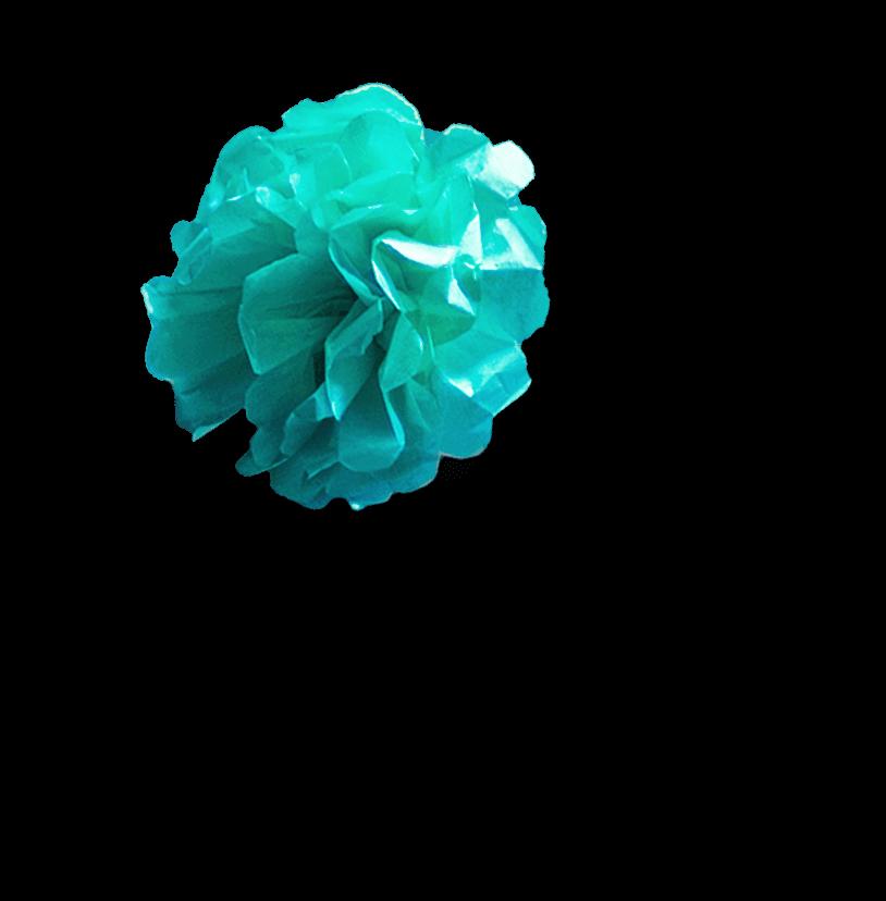 teal-flower