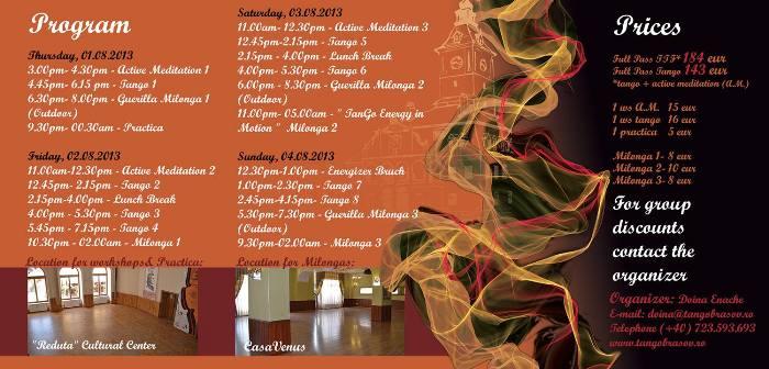 Transylvania Tango Fest 2013